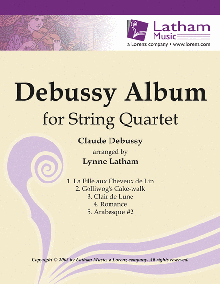 Debussy Album for String Quartet