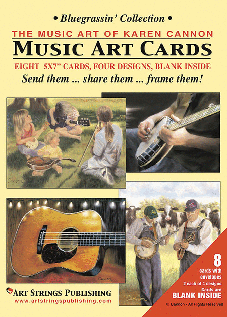 Music Art Card Collections