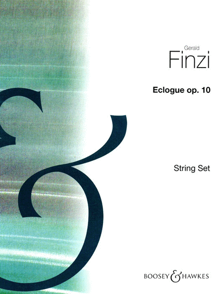 Eclogue for Piano and String Orchestra, Op. 10