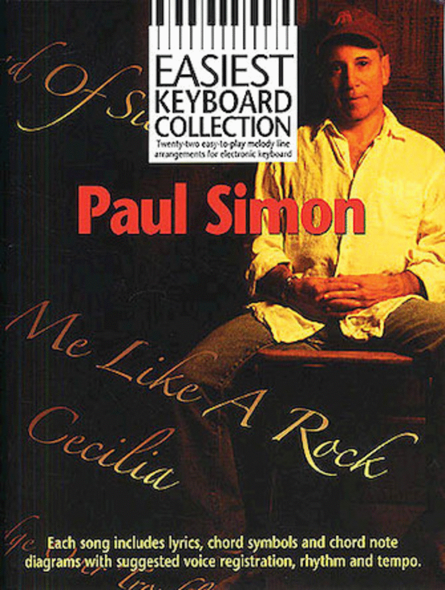 Paul Simon - Easiest Keyboard Collection