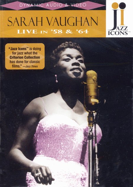 Sarah Vaughan - Live in '58 and '64