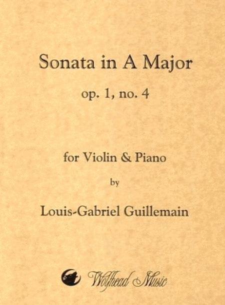 Violin Sonata in A Major, op. 1, no. 4