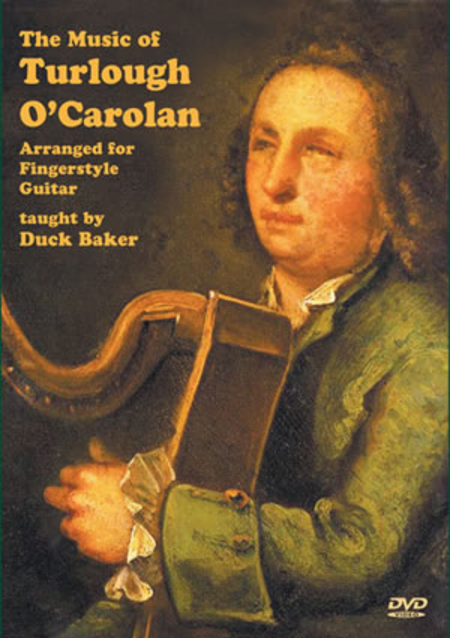 Music of Turlough O'Carolan (Arranged for Fingerstyle Guitar)