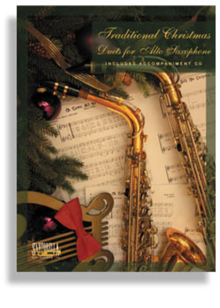 Traditional Christmas Duets for Alto Sax with CD