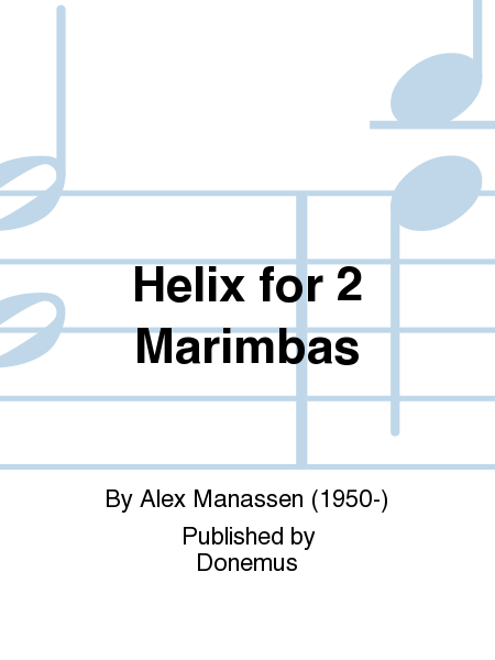 Helix for 2 Marimbas