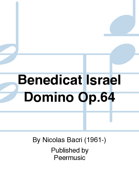Benedicat Israel Domino Op.64