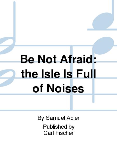 be not afraid sheet music pdf