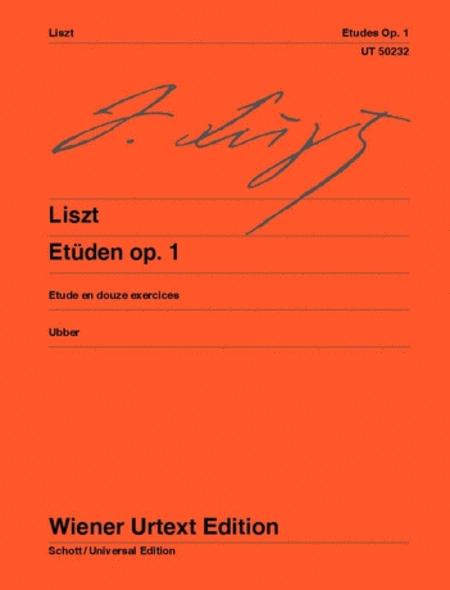 Etudes, Op. 1