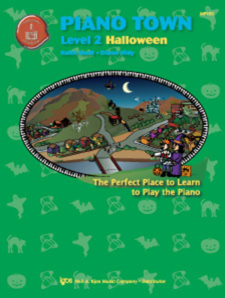 Piano Town Halloween, Level Two