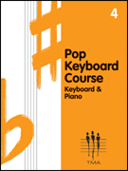 Tritone Pop Keyboard Course - Book 4
