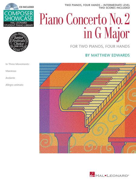 Concerto No. 2 in G Major for 2 Pianos, 4 Hands