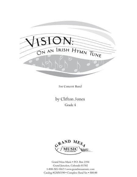 Vision: On an Irish Hymn Tune (Score)
