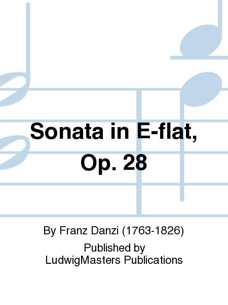 Sonata in E-flat, Op. 28