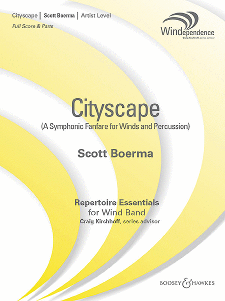 Cityscape (A Symphonic Fanfare for Winds and Percussion)