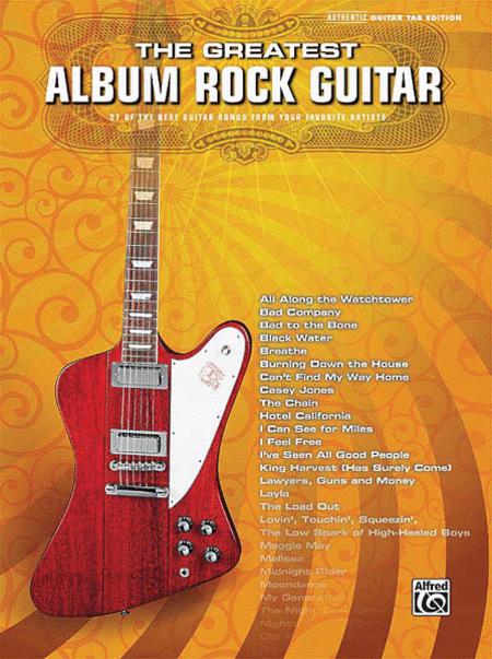 The Greatest Album Rock Guitar