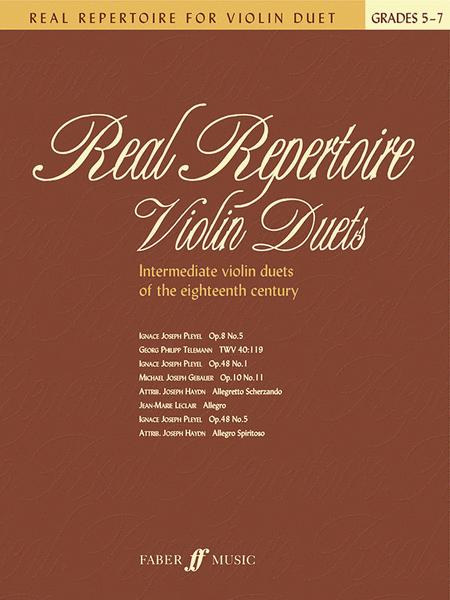 Real Repertoire - Violin Duets