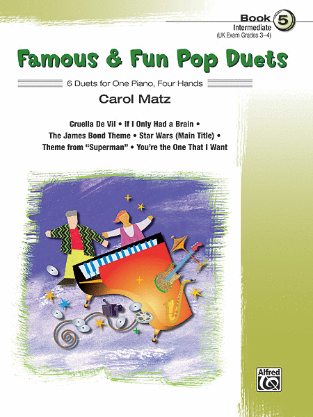 Famous & Fun Pop Duets - Book 5