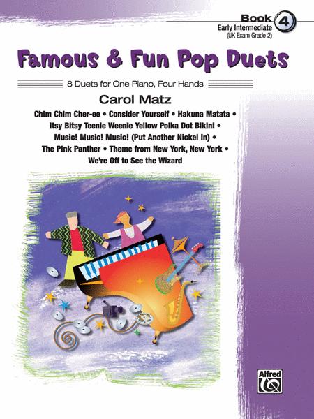 Famous & Fun Pop Duets - Book 4