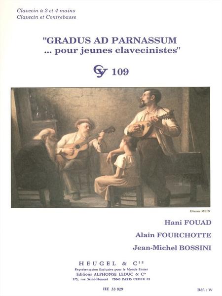 Gradus Ad Parnassum - Clavecin 2 Et 4 Mains/Clavecin Et Contreb.