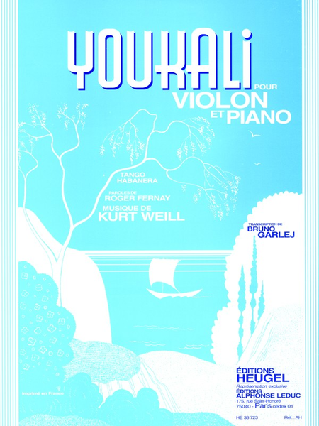 Youkali (Tango Habanera) - Violon et Piano