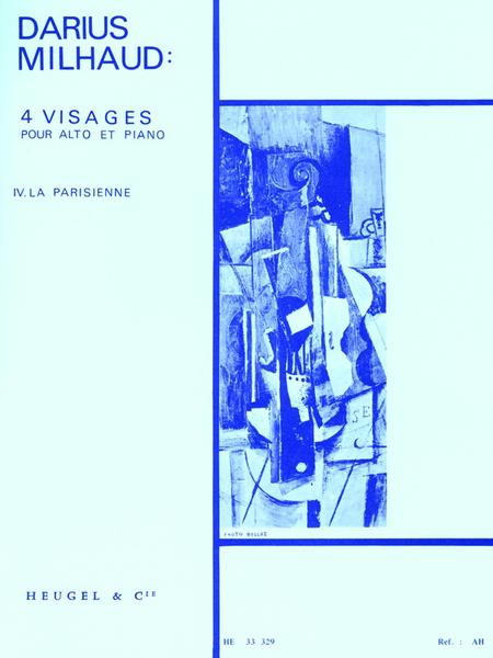 4 Visages No.4 La Parisienne Alto et Piano