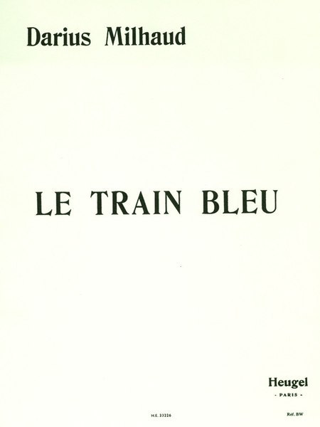 Train Bleu - Piano