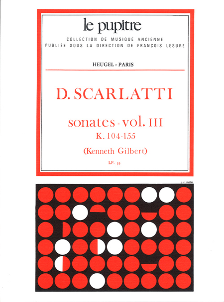 Oeuvres Completes Pour Clavier - Volume 03 Sonates K104 a K155