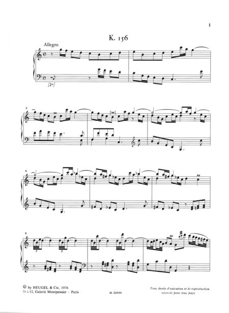 Oeuvres Completes Pour Clavier - Volume 04 Sonates K156 a K205