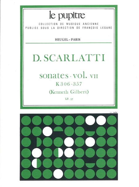 Oeuvres Completes Pour Clavier - Volume 07 Sonates K306 a K357