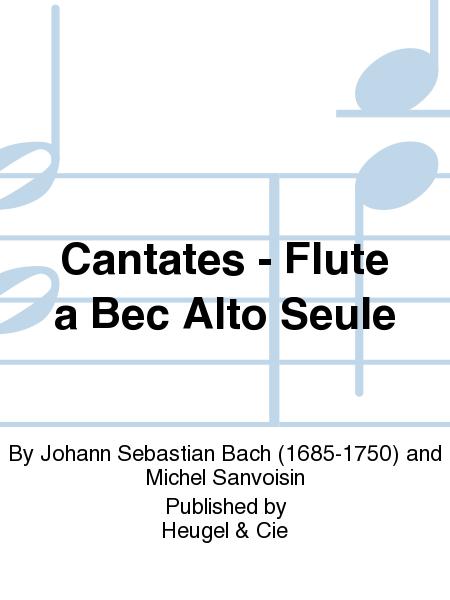 Cantates - Flute a Bec Alto Seule