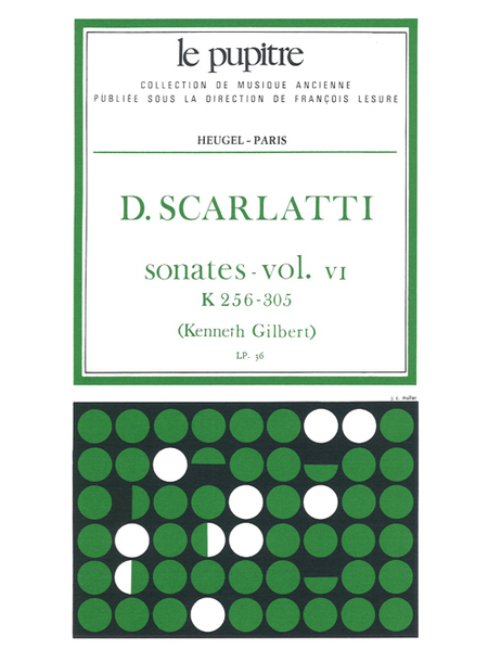 Oeuvres Completes Pour Clavier - Volume 06 Sonates K256 a K305