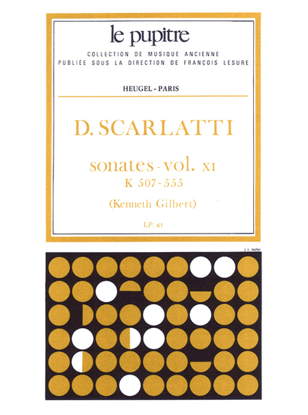 Oeuvres Completes Pour Clavier - Volume 11 Sonates K507 A K555