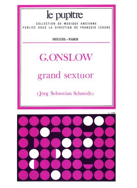 Grand Sextuor Op77 Bis (Pno/Clar/Fl/Basson/Cor/C.Basse)