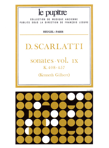 Oeuvres Completes Pour Clavier - Volume 09 Sonates K408 a K457