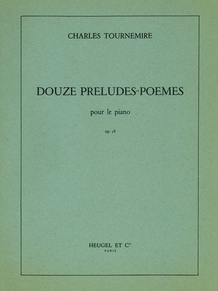 12 Preludes-Poemes Op58 - Piano