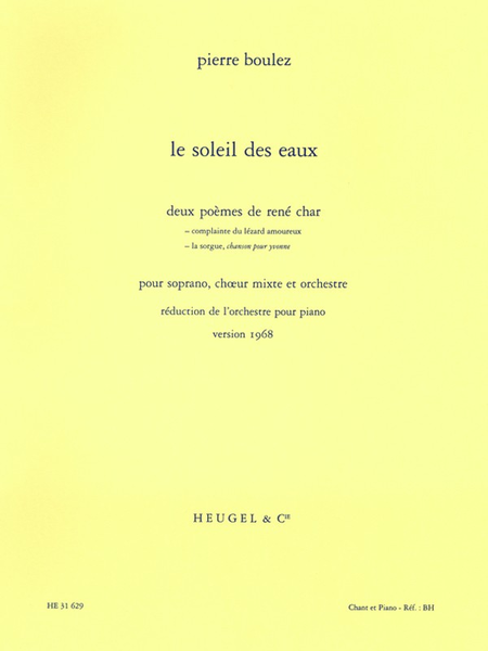 Soleil Des Eaux