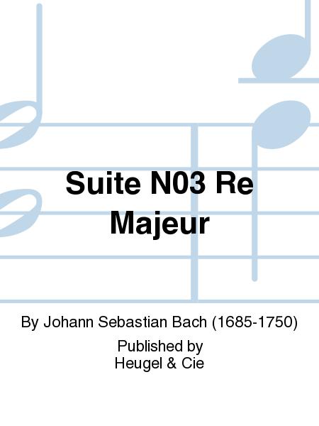 Suite, No. 3 Re Majeur