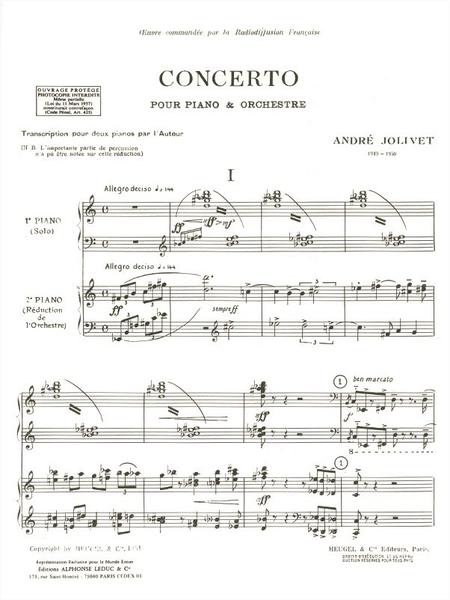 Concerto Piano et Orchestre