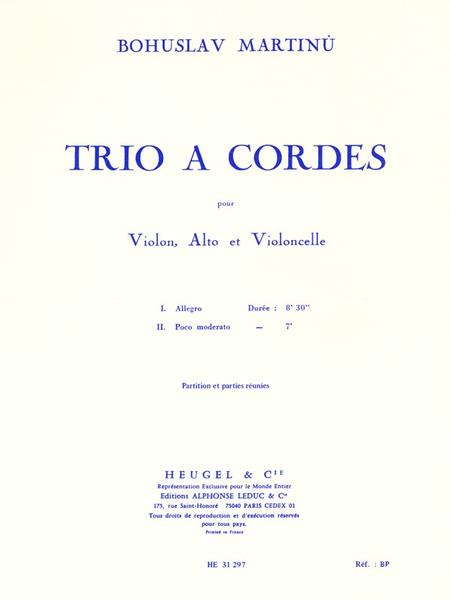 Trio - Violon/Alto/Violoncelle