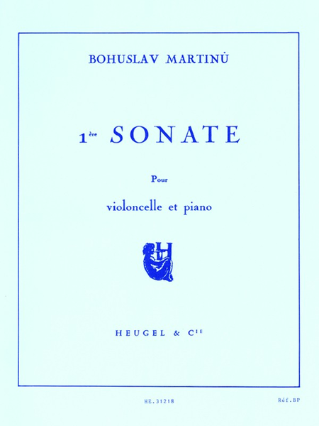 Sonate No.1 - Violoncelle et Piano