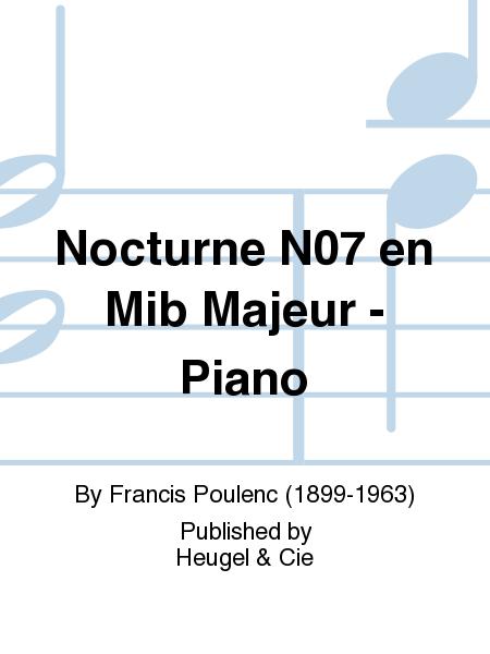 Nocturne No.7 en Mib Majeur - Piano