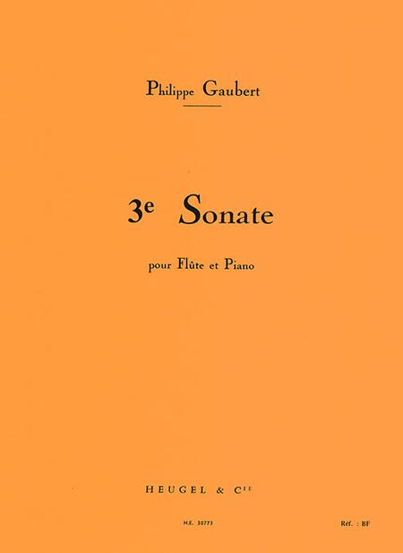 Sonate No.3 - Flute et Piano