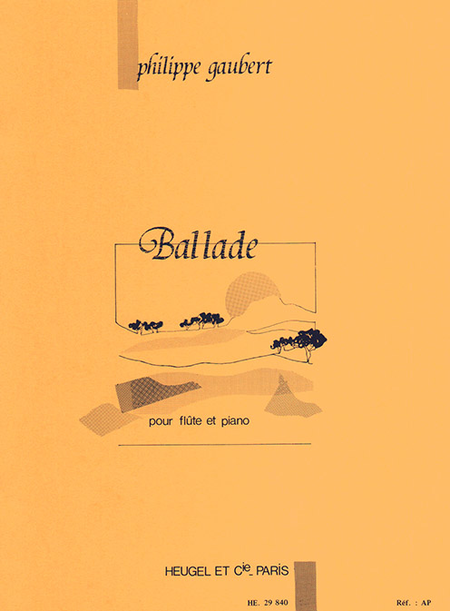 Ballade - Flute et Piano
