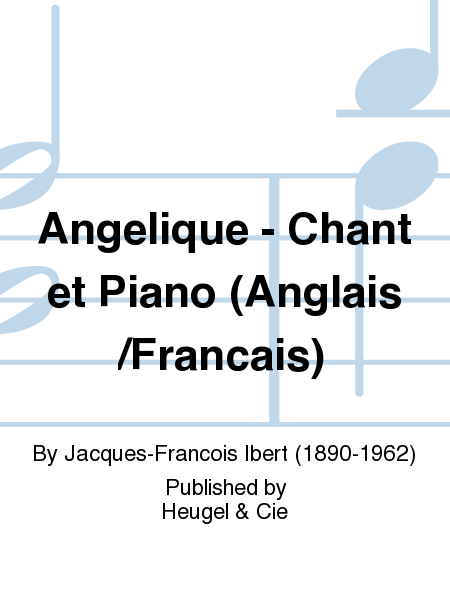 Angelique - Chant et Piano (Anglais/Francais)