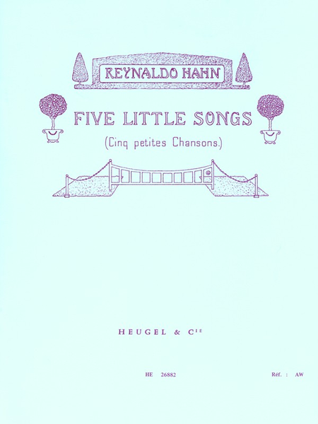 Five Little Songs - Chant et Piano