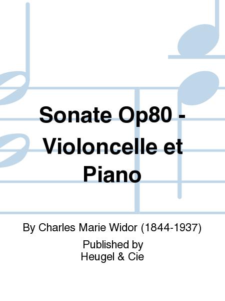 Sonate Op80 - Violoncelle et Piano