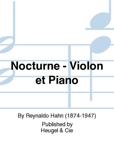 Nocturne - Violon et Piano