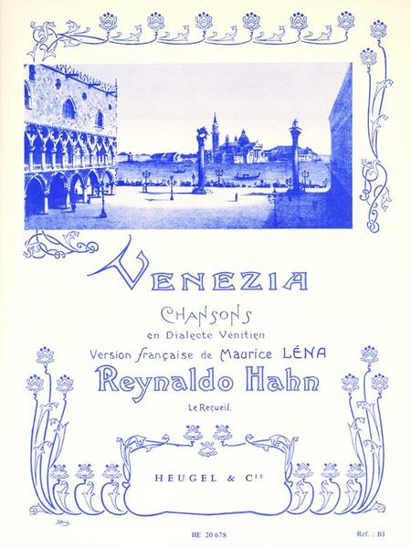 Venezia - Chant Et Piano