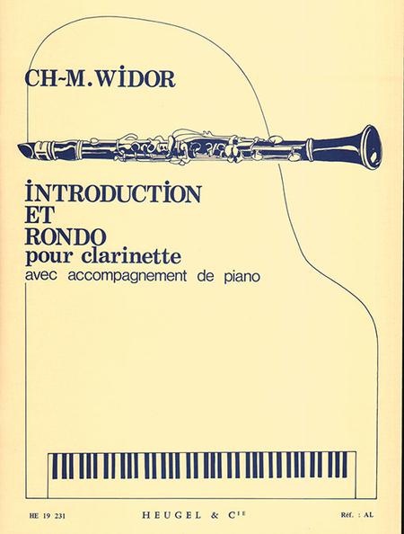 Introduction et Rondo - Clarinette et Piano