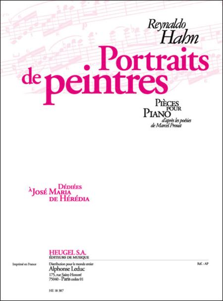 Portraits de Peintres - Piano